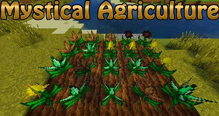 Mystical Agriculture Mod for Minecraft 1 12 2/1 11 2 | MinecraftSide