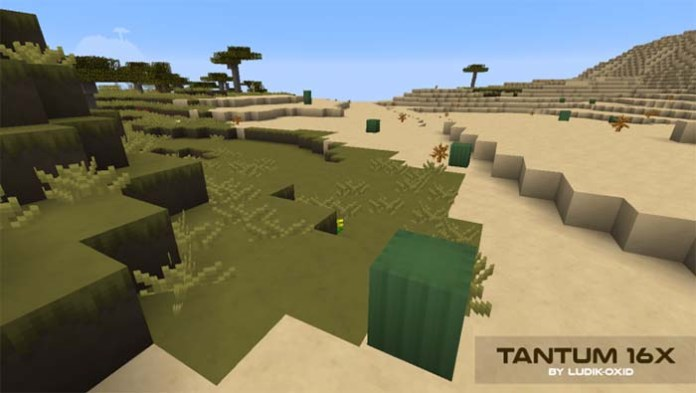 Tantum Resource Pack for Minecraft