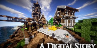 A Digital Story Resource Pack for Minecraft