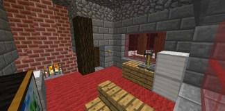 Hidden Lever Map for Mineraft