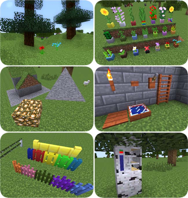 Carpenter's Blocks Mod for Minecraft