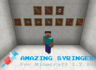 Amazing Syringe Mod for Minecraft
