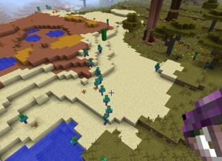 CrackedZombie Mod for Minecraft