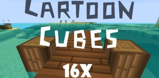 Cartoon Cubes Resource Pack for Minecraft