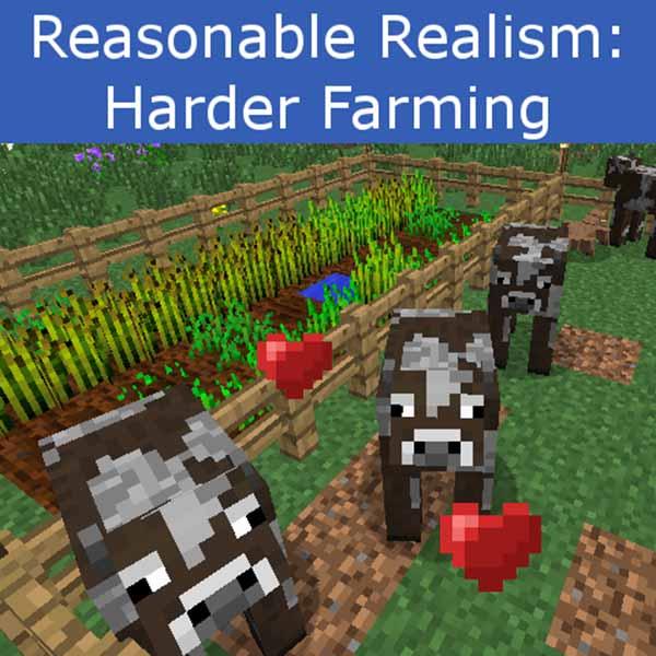 Harder Farming Mod