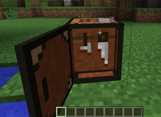 Crafting Table IV Mod for Minecraft