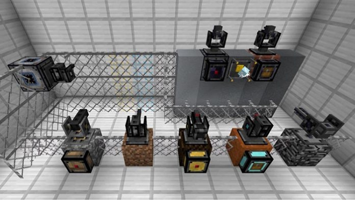 Open Modular Turrets Mod for Minecraft