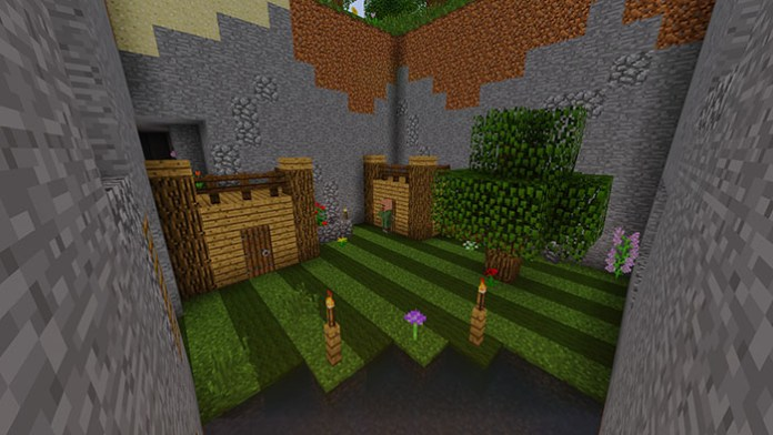 CHUNK BUG Map for Minecraft