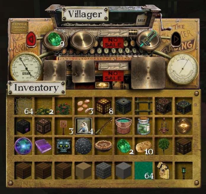 Glimmar's Steampunk Resource Pack for Minecraft