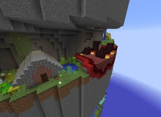 Parkour Spiral Map for Minecraft