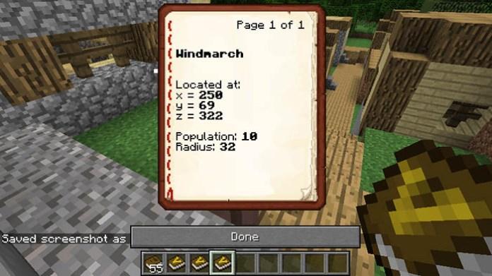 Village Names Mod for Minecraft 1 12 2/1 11 2 | MinecraftSide