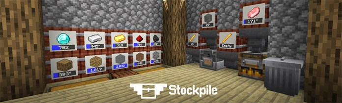 Stockpile Mod for Minecraft