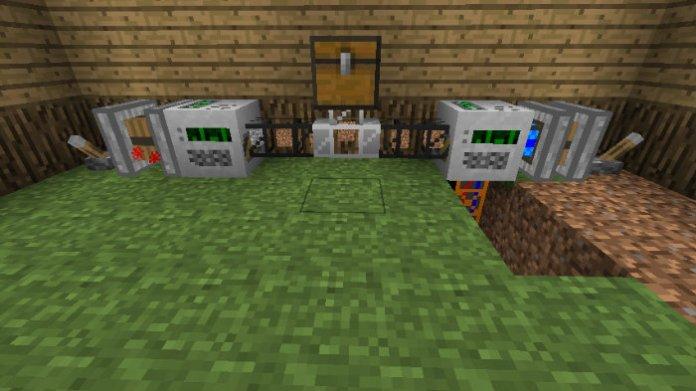 how to make a redstone digging machine in minecraft pe