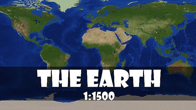 The Recreation Of The Earth Map For Minecraft MinecraftSix - Maps fur minecraft 1 8 9