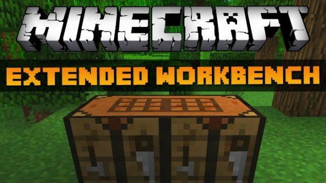 Extended Workbench Mod For Minecraft 1 8 1 7 10 Minecraftsix