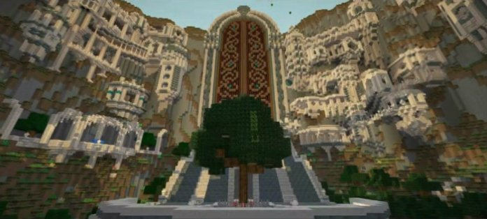 Kingdom of the sky map for minecraft 187 minecraftsix kingdom of the sky map sciox Choice Image