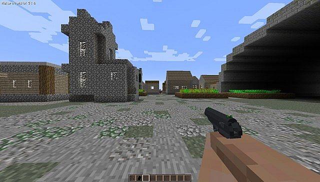 Last Days Mod For Minecraft MinecraftSix - Minecraft last of us map