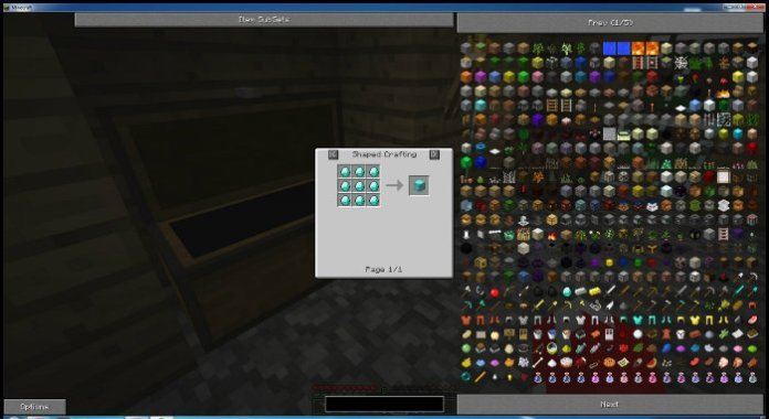 Not Enough Items Mod For Minecraft 11221112 Minecraftsix