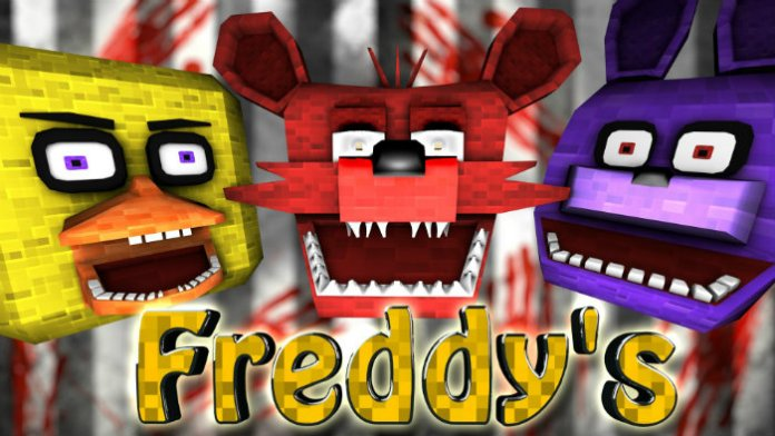 Five Nights At Freddy S 2 Mod For Minecraft 1 7 10 Minecraftsix