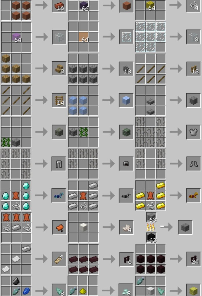 convenient-recipes-minecraft
