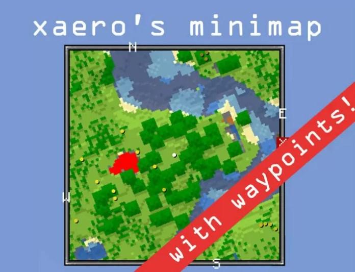 Xaeros Minimap Mod For Minecraft MinecraftSix - Maps fur minecraft installieren