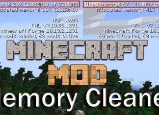 memory cleaner mod minecraft
