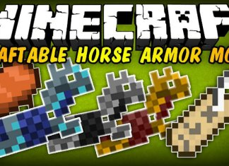 craftable horse armor and saddles