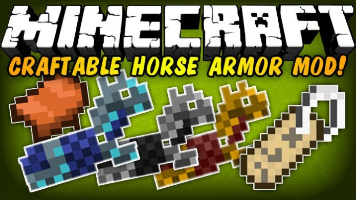 minecraft craft saddle craftable armour amp saddle mod for minecraft 1 12 2 2471