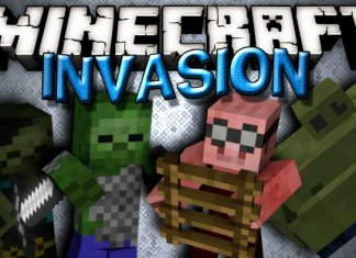 invasion mod minecraft