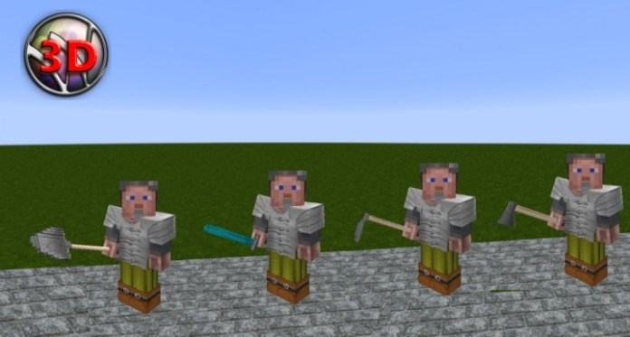 Wolion 3d Resource Pack For Minecraft 1 8 4 Minecraftsix