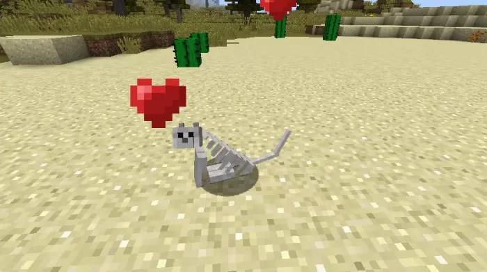 Oblivion the Skeleton Cat Resource Pack for Minecraft 1 8 4