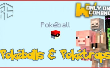 pokeballs and poketraps map minecraft