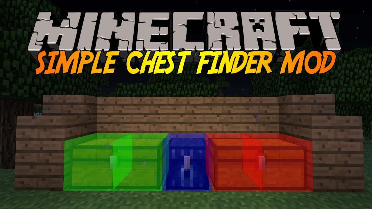 The Simple Chest Finder Mod For Minecraft 1.8/1.7.10 ...