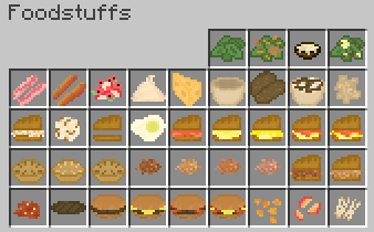 Birds foods mod for minecraft 11221112 minecraftsix there are several different types of foods to choose from but youll find theyre all more or less the same in the end they all fill your hunger bar and forumfinder Gallery