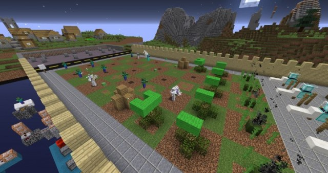 Cubes VS Zombies Map for Minecraft 1.8.8 | MinecraftSix