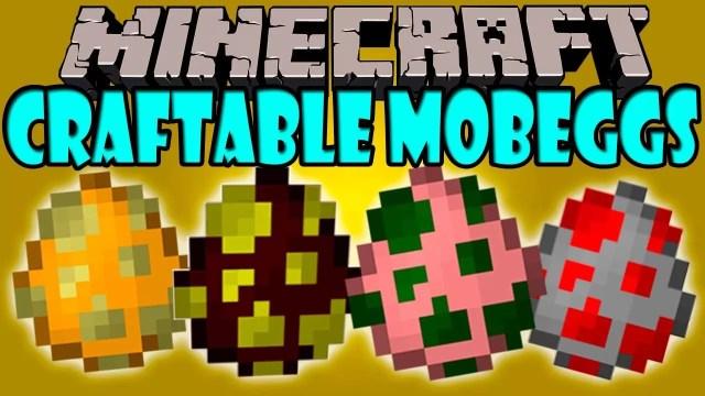 Craftabl- Mob-Eggs-mod