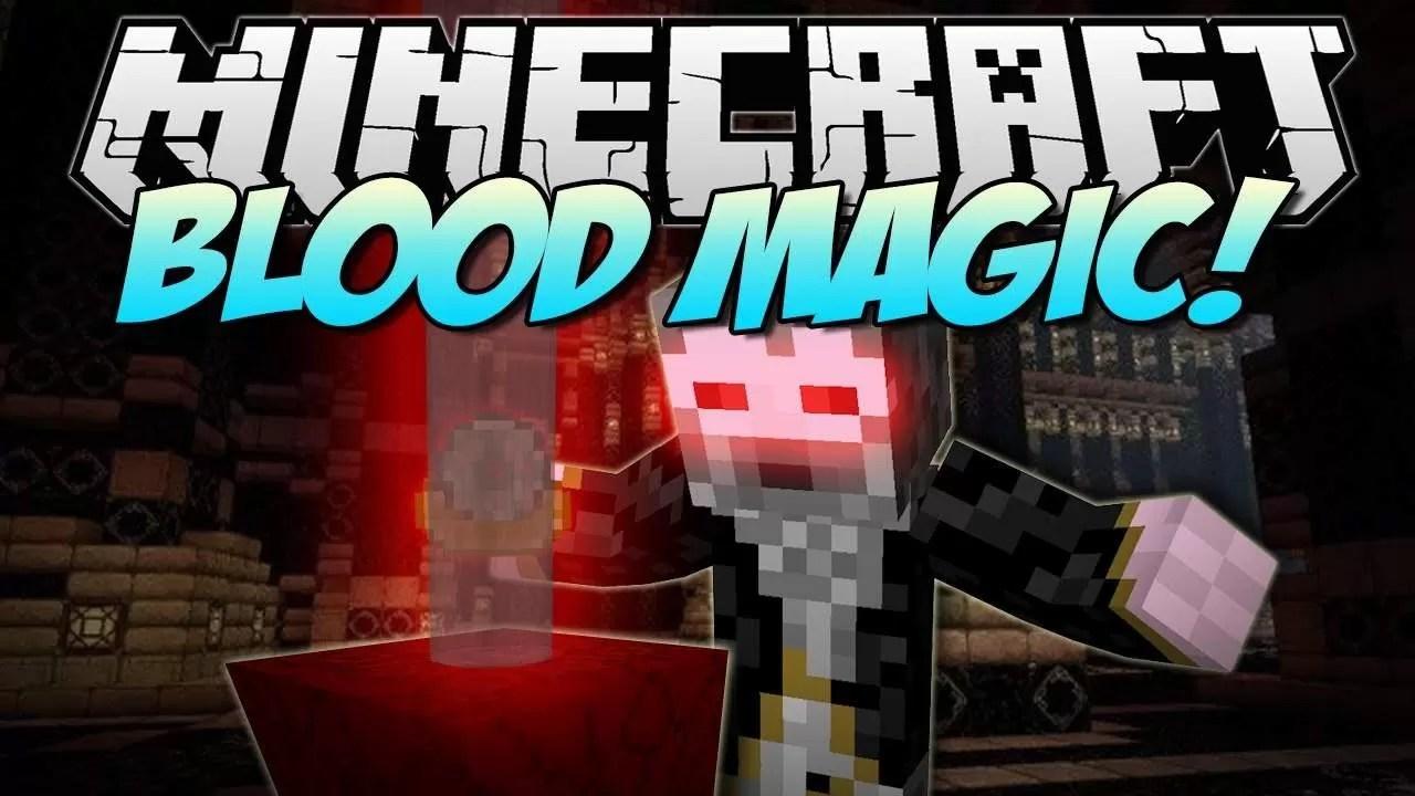 Blood Magic Mod for Minecraft 1 11 2/1 10 2 | MinecraftSix