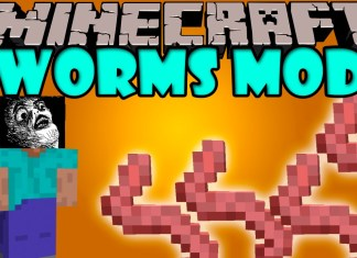 worms mod minecraft