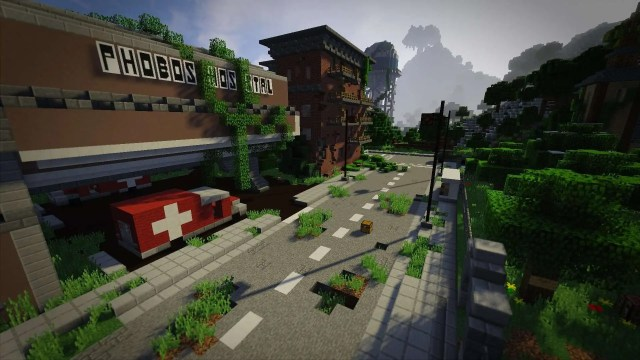 Phobos Apocalyptic Survival Map for Minecraft 1.9/1.8.9 | MinecraftSix