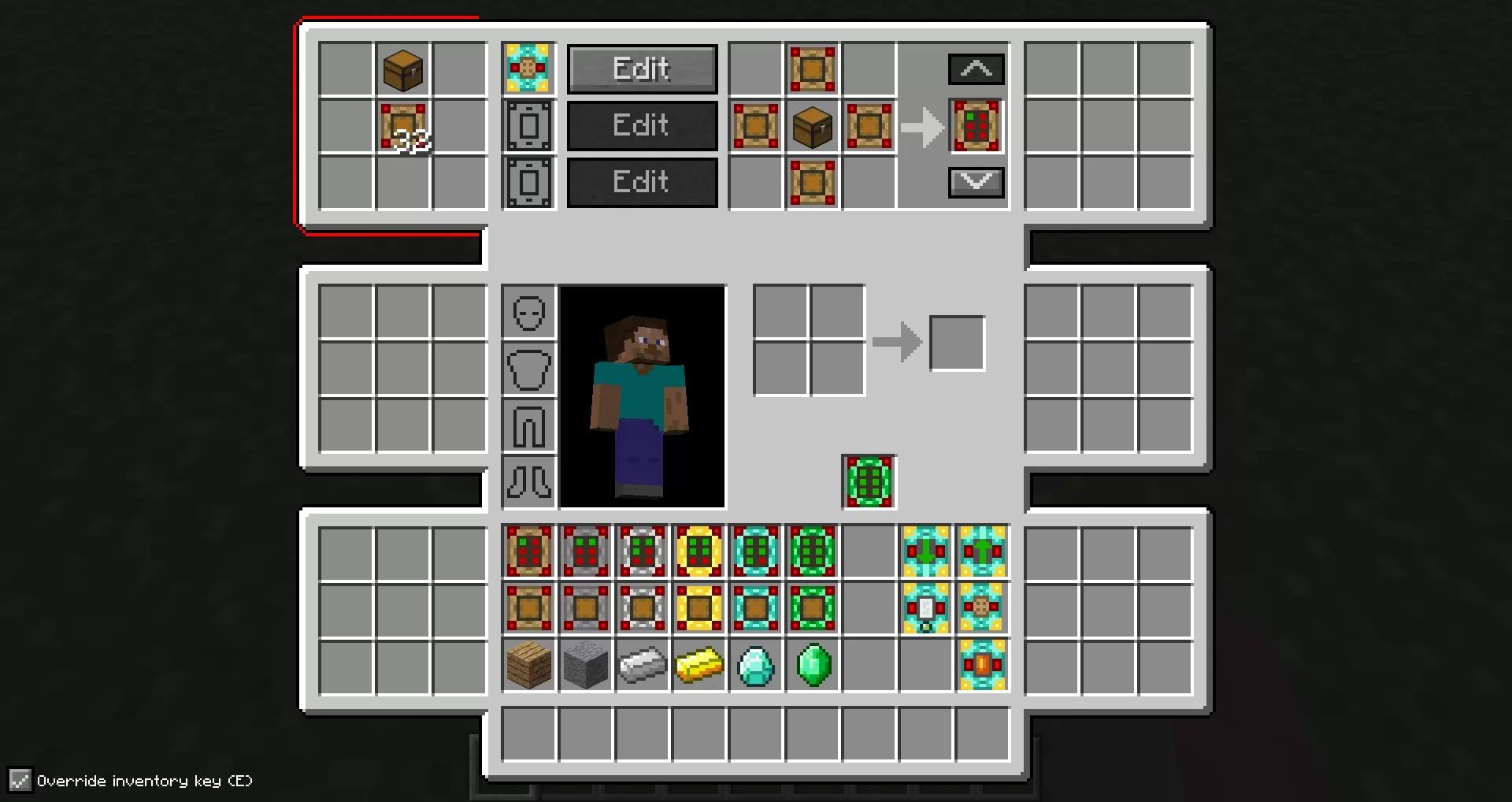 minecraft bigger inventory