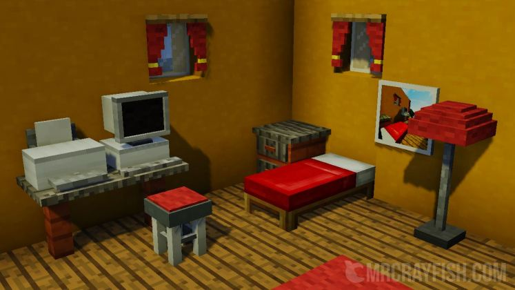 Mrcrayfish s furniture mod for minecraft for In mod furniture
