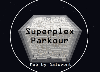 superplex parkour map