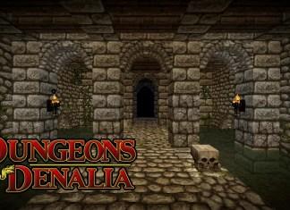 dungeons denalia map