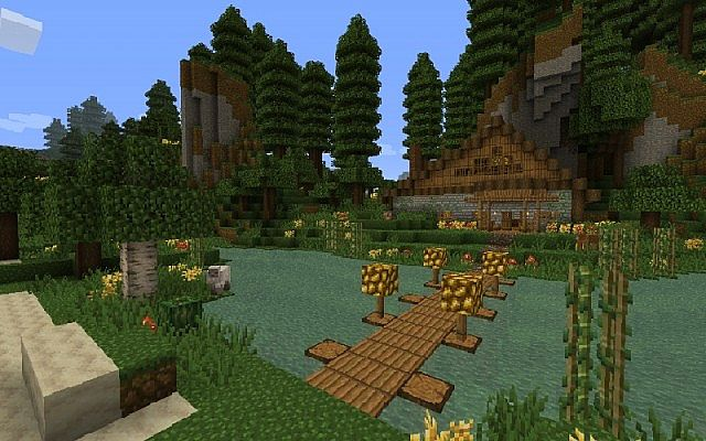 Jungle Ruins Resource Pack for Minecraft 1 9 2/1 9
