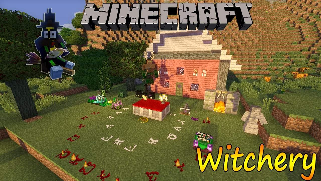 witchery mod guide 1.7.10