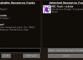 resource pack Organizer mod