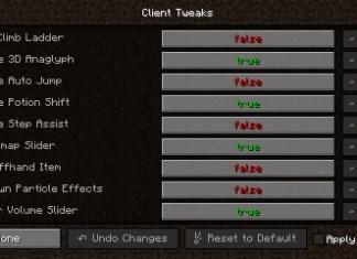 client tweaks mod