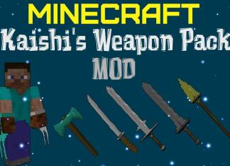 kaishis weapon pack mod