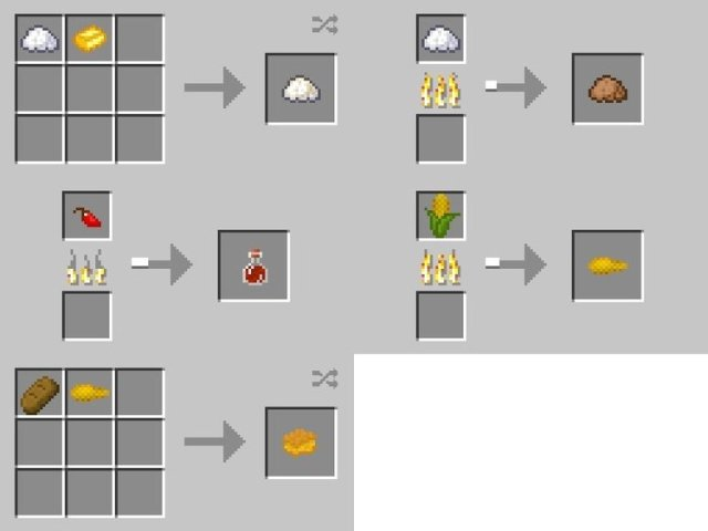 Xl food mod for minecraft 1102194 minecraftsix xl food mod for minecraft 1102 and 194 changelogs forumfinder Choice Image