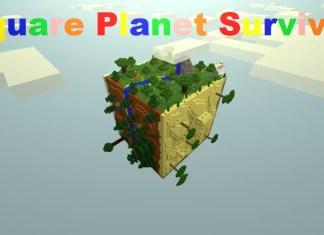 square planet survival map